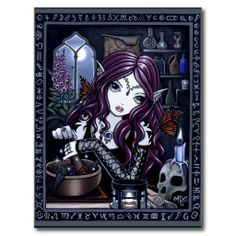 Printed by the artist Myka Jelina on. Myka Jelina is a fantasy artist living in the beautiful Missouri Ozarks. Myka Jelina art, as unique as you are. Gothic Fantasy Art, Gothic Fairy, Steampunk Fairy, Dark Fantasy, Amy Brown, Fantasy Posters, Elf Magic, Fairy Art, Sign Printing