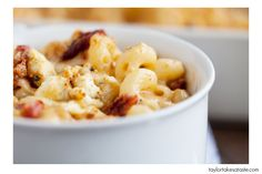 Red white and Blue Mac and Cheese