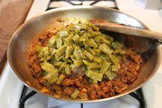 Chorizo con Nopales5