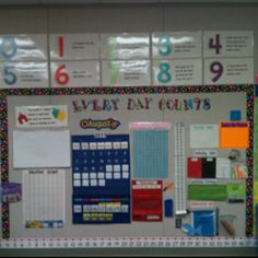 """Done completely independently (after about a month of practice) Leader and tail leader """"teach"""" calendar. Other students are held accountable by recording all parts in a calendar folder that matches what is on the wall. Classroom Calendar, Classroom Bulletin Boards, Math Classroom, Classroom Ideas, Calendar Board, Kids Calendar, Calendar Ideas, Teaching Math, Kindergarten Math"""