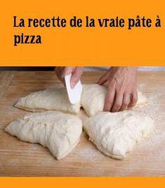 La #recette de la vraie #pâte à #pizza