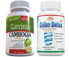 95% HCA 120 Caps Veg. Caps 2 Garcinia Cambogia ULTRA plus FREE Colon Detox, 2 Months Supply, Weight Loss, Fat Burner, Diet Pills, Carb Blocker, Appetite Control, Natural Diet Pills, SAME DAY SHIPPING -- You can find out more details at the link of the image. (This is an Amazon Affiliate link and I receive a commission for the sales)