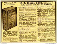 Original-Werbung/ Anzeige 1905 - ROTHSCHILD´S TASCHENBUCH FÜR KAUFLEUTE /VERLAG G.A.GLÖCKNER - LEIPZIG -ca. 160 x 120 mm