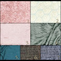 variety of rosette and ruffle fabric Sewing Ruffles, Ruffle Fabric, Photoshop 3, Photoshop Photography, Rosettes, Photo Props, Photography Props