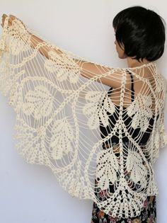 Hey, I found this really awesome Etsy listing at http://www.etsy.com/listing/151904447/off-white-wraps-shawl-crocheted-scarf