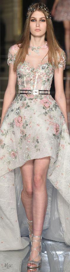 Zuhair Murad Spring 2016 Couture https://poshatplay.wordpress.com/2016/05/20/flirty-floral-dresses-perfect-for-springtime-fun/