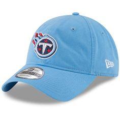 Tennessee Titans New Era Core Classic Secondary 9TWENTY Adjustable Hat -  Light Blue 29ab15c479fd