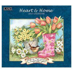 Heart & Home 2017 Calendar (Paperback)
