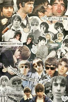 My sky with diamonds: Photo Noel Gallagher Young, Liam Gallagher, Banda Oasis, Oasis Brothers, Cool Bands, Great Bands, Oasis Album, Iphone Wallpaper Music, Blur Band
