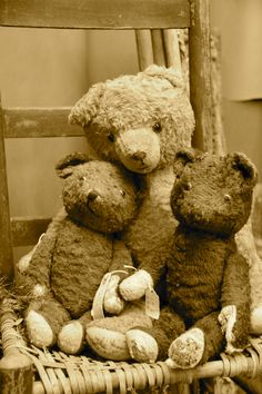 Do you have a collection of vintage teddy bears? Protect them in a display case.