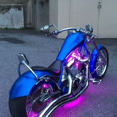 Like the Lightings and lil' bitch bar. needs more (longer)seat and more mirror. Big Dog Motorcycle, Custom Motorcycle Paint Jobs, Custom Moped, Chopper Motorcycle, Custom Choppers, Motorcycle Style, Custom Motorcycles, Custom Bikes, Motorcycle Tips