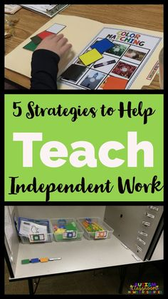 You've set up your independent work system and you've got great tasks and organization...so how do you assure that your students build independence? These 5 strategies are important in getting to the final goal! via @drchrisreeve