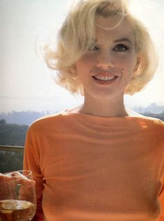 Marilyn Monroe, photographed by George Barris shortly before her death.