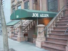 One of our favorite little restaurants in the lower level of brownstone on W 46th St
