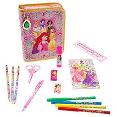 School Supplies For Off Today! Disney School Supplies For Off Today!Disney School Supplies For Off Today! Princess Art, Disney Princess, Princess Toys, Teen School Supplies, Art Kits For Kids, Baby Doll Accessories, Office Accessories, Art Case, Disney Toys