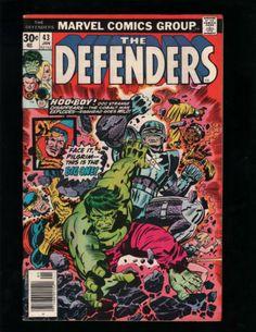 THE DEFENDERS #43 HULK, POWER MAN, DOCTOR STRANGE, MARVEL COMICS