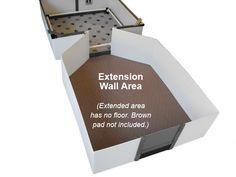 Whelping Boxes-EZwhelp Corrugated plastic