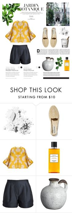 """""""Botanical garden"""" by kelly-m-o ❤ liked on Polyvore featuring Bobbi Brown Cosmetics, Manebí, Dries Van Noten, By Malene Birger, Hermès, 3.1 Phillip Lim and CB2"""
