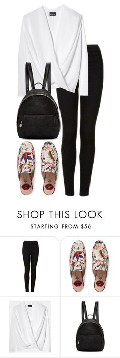 """""""Untitled #2843"""" by elenaday on Polyvore featuring Topshop, Gucci and STELLA McCARTNEY"""