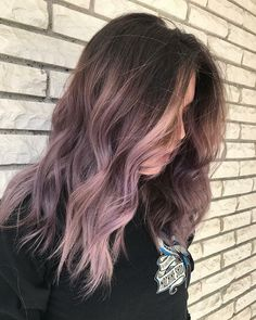 Funky Balayage Frisuren SketchBalayage Hair Ideas As Of Dusty Lavender Pu . Funky Balayage Frisuren SketchBalayage Hair Ideas As Of Dusty Lavender Lila Mauve Ombre Hair with[Stichwort[Stichwort[keyword[keyword Faded Hair Color, Hair Dye Colors, Ombre Hair Color, Subtle Purple Hair, Pastel Ombre Hair, Ombre Style, Dyed Hair Ombre, Hair Color For Warm Skin Tones, Light Purple Hair Dye