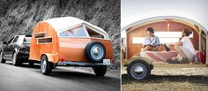 Hutte Hut teardrop trailer