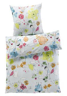"""Kinderbettwäsche """"Flieger Robert"""" aus reiner Bio-Baumwolle von #hessnatur - #eco #bio #organic"""