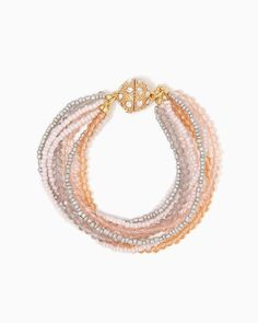 charming charlie   Leilani Beaded Bracelet   UPC: 400000029214 #charmingcharlie