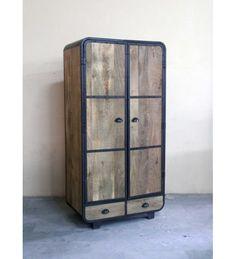 Indyjska Industrialna #drewniana #szafa @ 2 996 zł. Kup Teraz @ http://goo.gl/xlDt7p