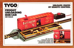1970's Tyco HO train box car