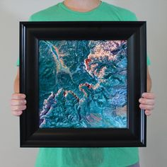 Bryce Canyon National Park Print from City Prints Map Art