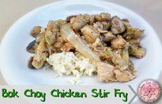 Bok Choy Chicken Stir Fry - Anna Can Do It!