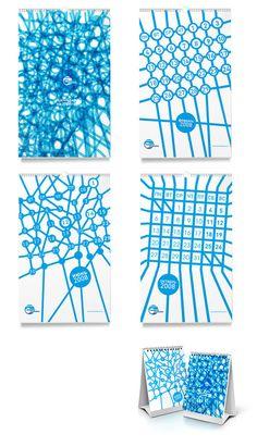 55 Cool & Creative Calendar Design Ideas For 2013 | Graphic & Web Design Inspiration + Resources