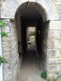 One of the peculiar passages under houses in Swanage
