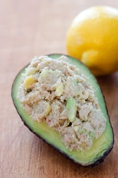 Paleo Avocado Tuna Salad - a quick and easy paleo lunch or snack recipe in 5 minutes with just 4 ingredients. {gluten-free, grain-free, dairy-free}   Cook Eat Paleo