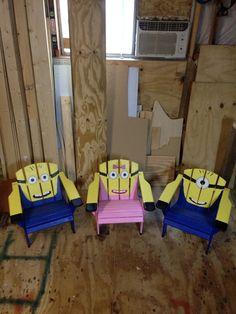 Minion chairs