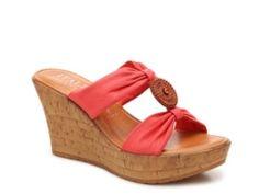 Italian Shoemakers Amani Wedge Sandal
