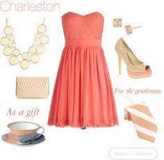 Charleston | Southern Wedding Style | Dress For The Wedding | dressforthewedding.com