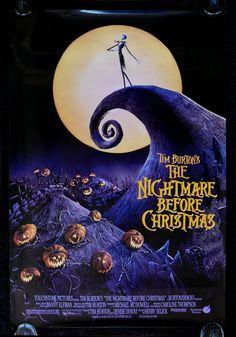 nightmare before christmas more movie posters christmas movies ...