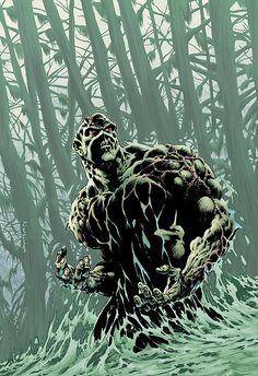 Swamp Thing by Berni Wrightson