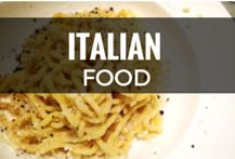 What to eat in Italy. Italian food recipes.     Some authentic Italian recipes and others just inspired by Italy.