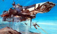 Transformable battleship.
