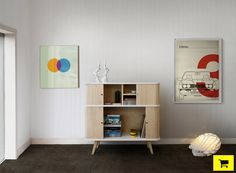 cool retro roll-up wooden doors rotated for hk series cupboards by mo-ow