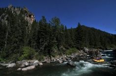 Whitewater rafting the Gallatin - Big Sky, Montana