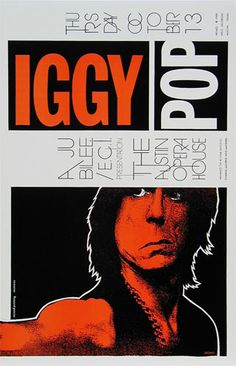 Iggy Pop     Austin Opera House   10/13/1988