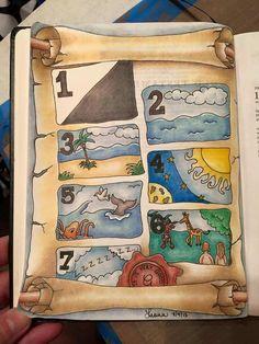 Sweet creation Bible art journaling.