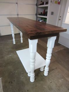 laundry room folding table | Custom Farm House Laundry Folding Table by Thecarpenterant ...