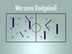P.E. Games - Warzone Dodgeball - YouTube