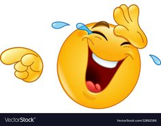 Illustration about Emoticon laughing and wiping tears away while pointing at something or someone with his other hand. Illustration of happy, emoji, clipart - 85083127 Animated Smiley Faces, Funny Emoji Faces, Animated Emoticons, Funny Emoticons, Funny Sms, Emoticon Love, Emoji Love, Images Emoji, Emoji Pictures