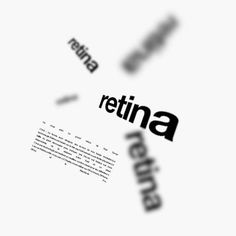 Retina Ce n'est pas: Le grand retour de Tina Turner C'est : Le terme pour désigner des écrans de très haute résolution.La technologie #Retina est basée sur le fait que l'œil humain a une limite physique.La taille du #pixel nécessaire pour indiquer que l'écran est Retina est donc dépendante de la distance entre l'œil et ce pixel.  #themot #graphic #design #retina
