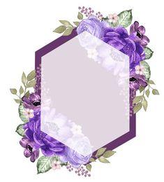 Картинки (разное) - 2 Flower Wallpaper, Wallpaper Backgrounds, Wedding Cards, Wedding Invitations, Page Borders Design, Invitation Background, Birthday Frames, Floral Logo, Borders And Frames